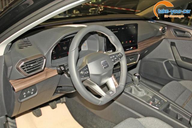Seat Leon 1.5 TSI Xcellence, AHK, Kamera, Navi, Voll-LED, ACC, Parklenk