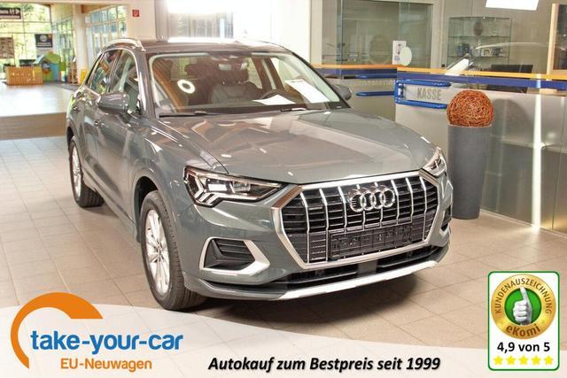 Audi Q3 - 40 TDI quattro S-Tronic advanced, AHK, Kamera, LED, MMI Plus Vorlauffahrzeug