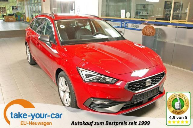 Seat Leon Sportstourer ST - 1.5 TSI FR, neues Modell, Parklenk, Navi Plus Vorlauffahrzeug
