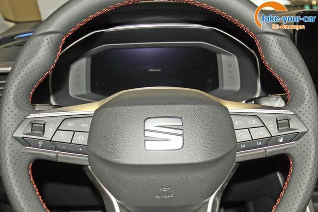 Seat Leon Sportstourer ST 1.5 TSI FR, neues Modell, Parklenk, Navi Plus