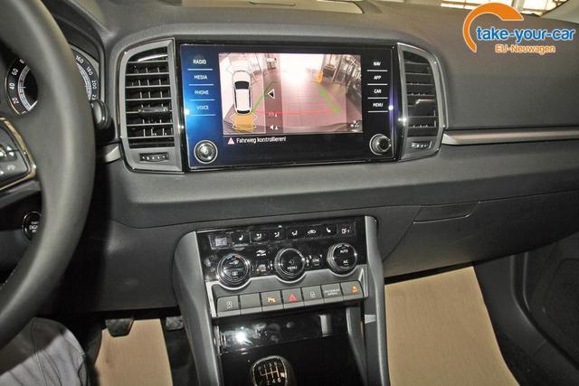 Skoda Karoq 1.5 TSI Ambition, AHK, Kamera, LED, Einparkhilfe, DAB, Ladeboden