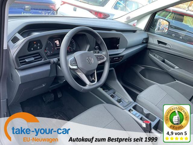Volkswagen Caddy - 1.5 TSI DSG, LED, Einparkhilfe, DAB, sofort Vorlauffahrzeug