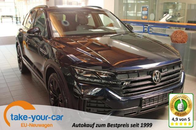 Volkswagen Touareg - 3.0 TDI V6 4-Motion R-LINE Black, IQ.Light, Luft, Nachtsicht, Pano Vorlauffahrzeug