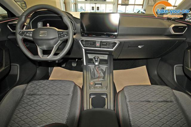 Seat Leon 1.5 TSI FR, Navi, Kamera, ACC, LED, 18-Zoll
