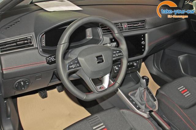 Seat Arona 1.0 TSI FR, Navi, LED, Kamera, Parklenk, 5 Jahre Garantie, virtual