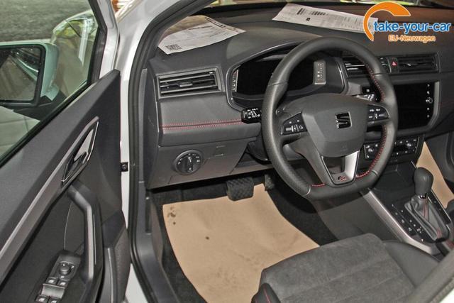 Seat Arona 1.0 TSI DSG FR, Navi, LED, Kamera, Parklenk, 5 Jahre Garantie,virtual
