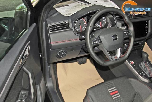 Seat Arona 1.5 TSI DSG FR, Navi, AHK, Kamera, SideAssist