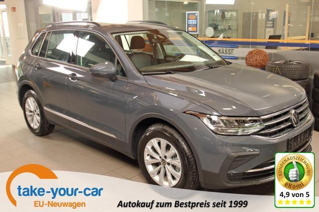 Volkswagen Tiguan - 1.5 TSI ACT, LED, Winterpaket, ACC, 17-Zoll Vorlauffahrzeug