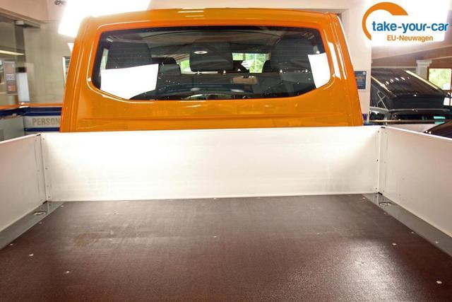 Volkswagen Transporter 6.1 Pritschenwagen TDI Doka Pritsche 110kW/150PS, lager