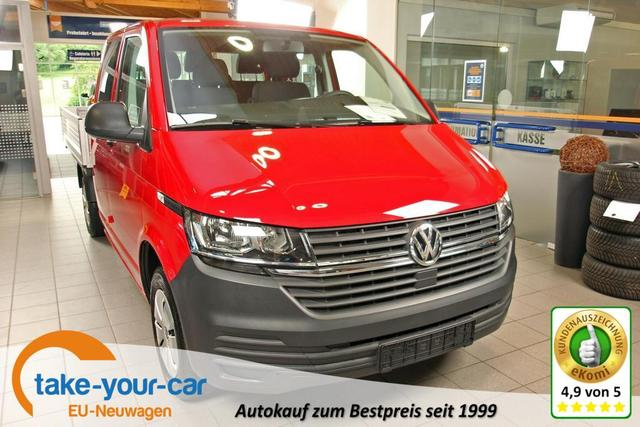 Volkswagen Transporter 6.1 Kastenwagen - T6.1 2.0 TDI Doka Pritsche 110kW/150PS Vorlauffahrzeug