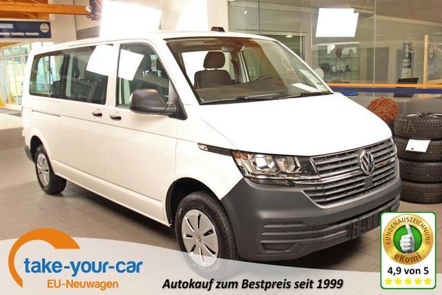 Volkswagen Transporter 6.1 Kastenwagen - T6.1 Kombi 2.0 TDI LR, 9-Sitzer, Sitzheizung, Klima Vorlauffahrzeug