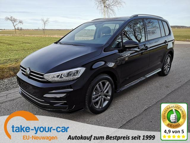 Volkswagen Touran 2.0TDi R-Line DSG ACC NAVI LED 7Sitzer AHK