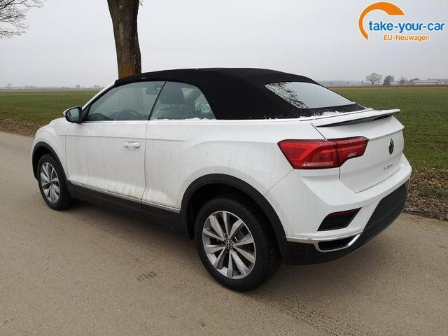 Volkswagen T-Roc Cabriolet Cabrio 1.5TSi Style DSG ACC PDC App Sitzh. Windschott