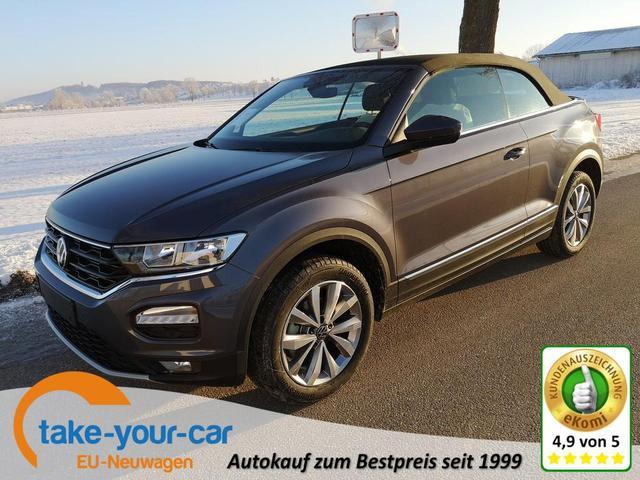 Volkswagen T-Roc Cabriolet - Cabrio 1.5TSi Style DSG ACC PDC App Sitzh. Windschott Vorlauffahrzeug