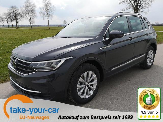 Volkswagen Tiguan - 1.5TSi Life 6Gang ACC LED App Velour Vorlauffahrzeug