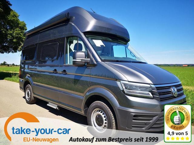Volkswagen Grand California - 600 3,5 to 2.0TDi Hochbett LED Clima Vorlauffahrzeug