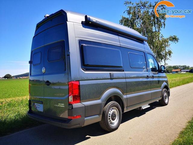 Volkswagen Grand California 600 3,5 to 2.0TDi Hochbett LED Clima