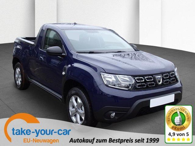 Dacia Duster - Blue dci 115 4x4 Comfort Pickup Vorlauffahrzeug