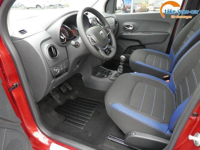 Dacia Lodgy Blue dCi 115 Celebration 7-Sitzer SHZ Navi Klima