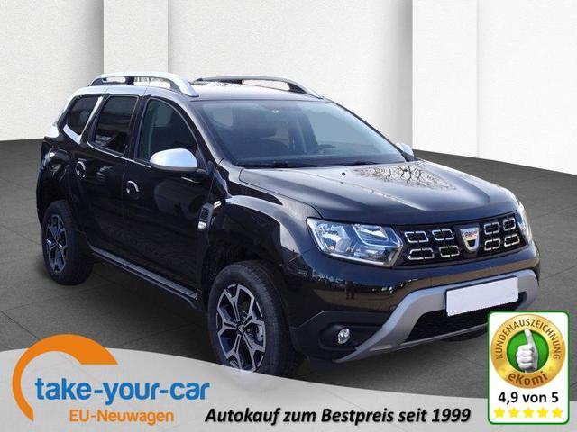 Dacia Duster - BLUE dCi 115 Prestige 4WD Klimaautomatik, Rückfahrkamera Vorlauffahrzeug