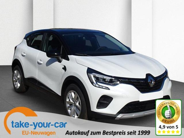 Renault Captur - TCe 140 EDC Business Edition SHZ, Navi Vorlauffahrzeug