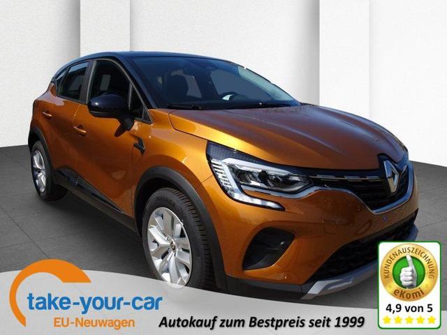Renault Captur - TCe 140 EDC Business Edition, Sitzheizung, Business-, City-Komfort Vorlauffahrzeug