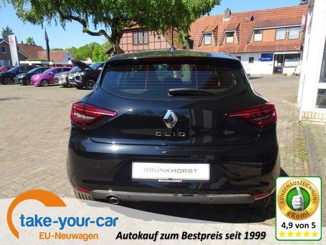 Renault Clio - TCe 130 EDC Intens 9,3-Zoll Navi, Rückfahrkamera 360°, SHZ Vorlauffahrzeug