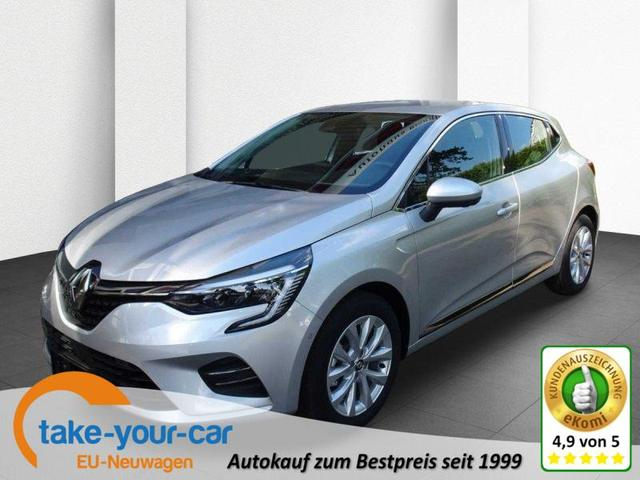 Renault Clio - TCe 130 EDC Intens, Navi 9,3-Zoll, Rückfahrkamera 360° Vorlauffahrzeug