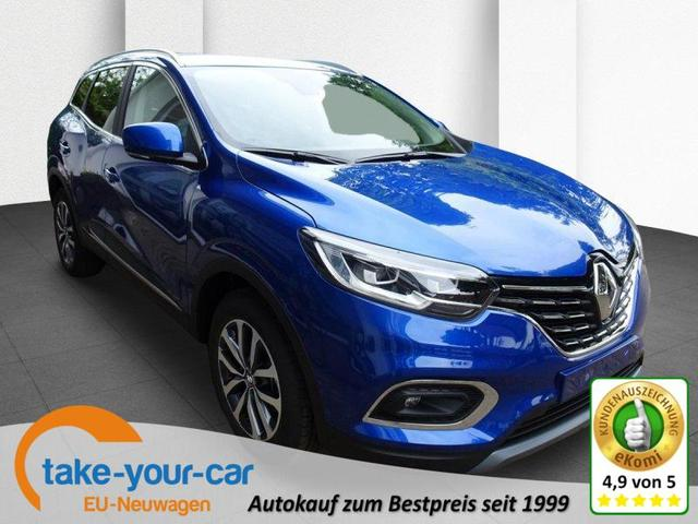 Renault Kadjar - TCe 140 EDC Intens Sitzheizung, Adaptiver Tempomat, Reserverad Vorlauffahrzeug