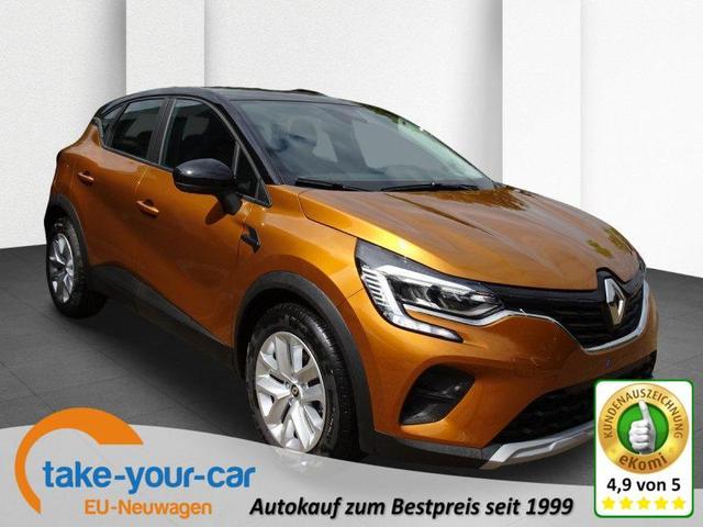 Renault Captur - TCe 90 Experience, Rückfahrkamera, NaviCarPlay, Klimaautomatik Vorlauffahrzeug