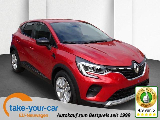 Renault Captur - TCe 90 Experience Deluxe-Paket Vorlauffahrzeug