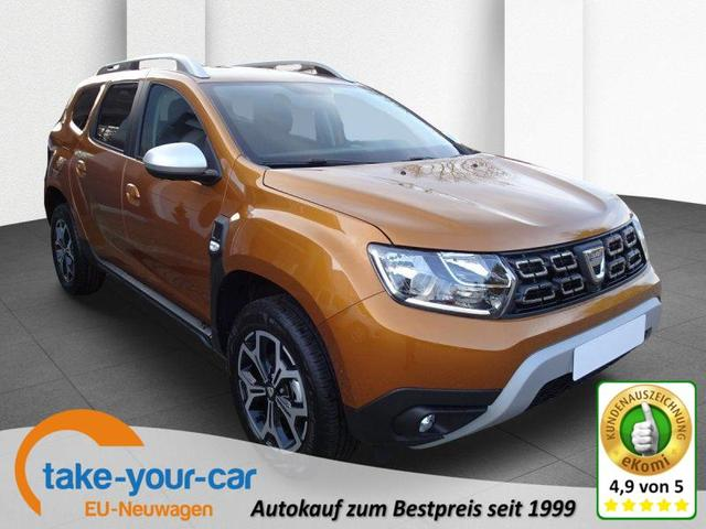 Dacia Duster BLUE dCi 115 Orange 2WD Navi Klimaauto