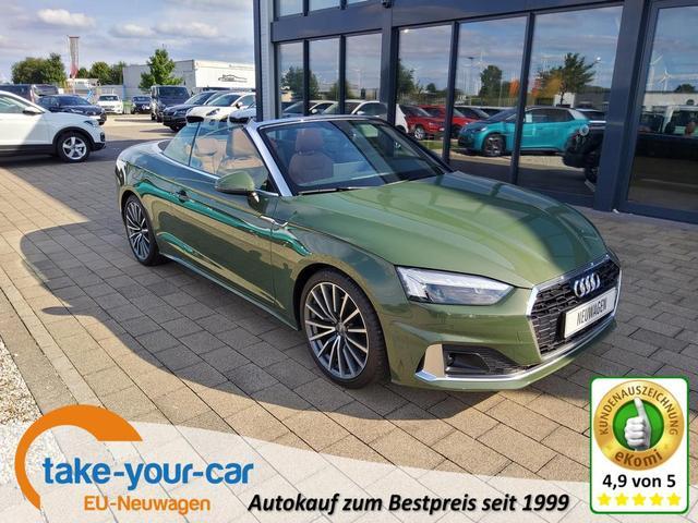 Audi A5 Cabriolet - Cabrio 40TFSI S-tronic advanced /19Zoll / B&O Vorlauffahrzeug