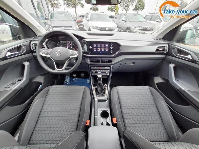 Volkswagen T-Cross 1.0 TSI Life / Kamera SideAssist Alu
