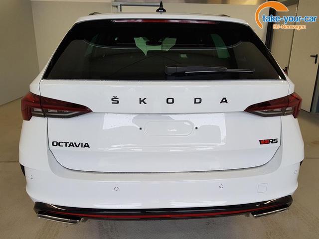 Skoda / Octavia Combi / Weiß /  /  / WLTP 2.0 TSI DSG 180kW / 245PS