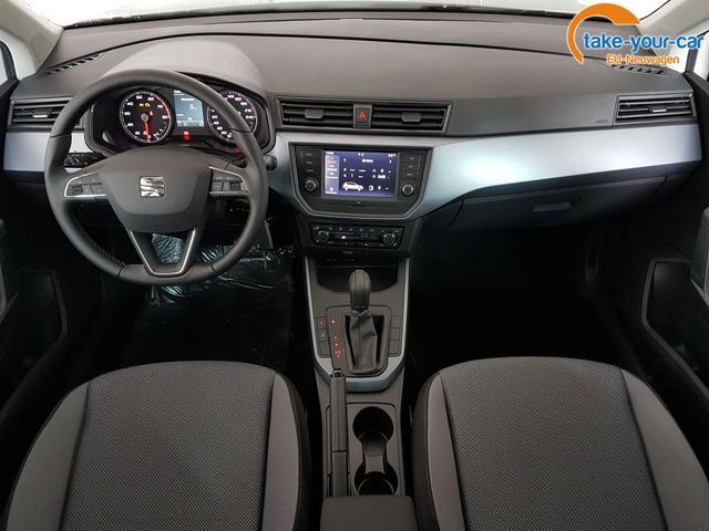 Seat / Arona / Weiß /  /  / WLTP GVL 36 Monate 1.0 TSI DSG 81kW / 110PS