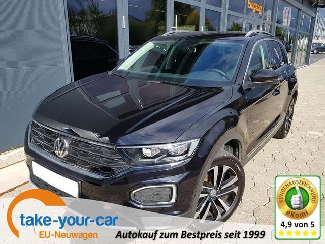 Volkswagen T-Roc - United 1,5 TSI DSG 110KW el. Heckklappe, Navi, SHZ, AHK Gebrauchtfahrzeug