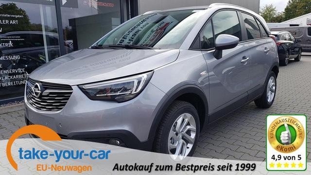 Opel Crossland - X Edition LED 16Zoll Shzg PDC Cam App  Vorlauffahrzeug