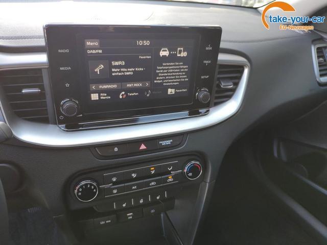 Kia Ceed 160PS AT Kamera*Sitzheizung*App-Connect!