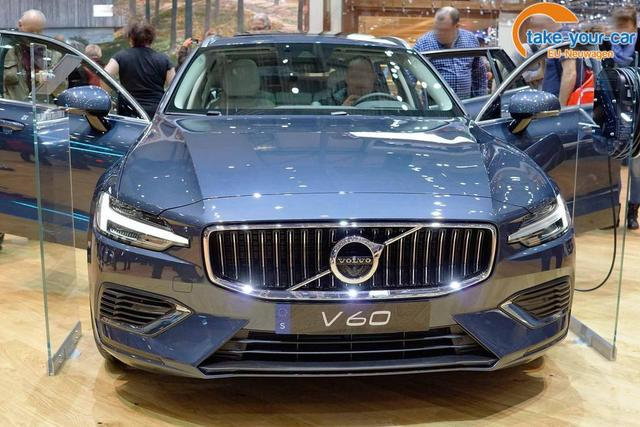Volvo V60 - Recharge Inscription Expression T6 Plug-in Hybrid 340PS/251kW Aut. 8 eAWD 2021 Bestellfahrzeug