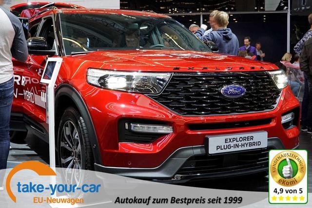 Ford Explorer - Platinum 3.0 EcoBoost Plug-In-Hybrid 457PS 336kW 10-Gang-Automatikgetriebe Allradantrieb Bestellfahrzeug