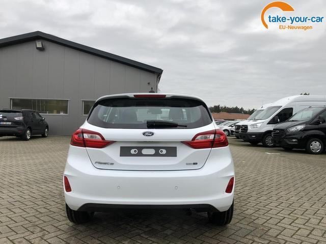 Ford Fiesta 1.0 EcoBoost Hybrid 125PS Titanium 5-türig Voll-LED Klimaautomatik Sitzheizung Lenkradheizung Ford-Navi SYNC3 DAB+ 8''-Touchscreen mit Bluetooth Apple CarPlay Android Auto Frontscheibe beheizb.
