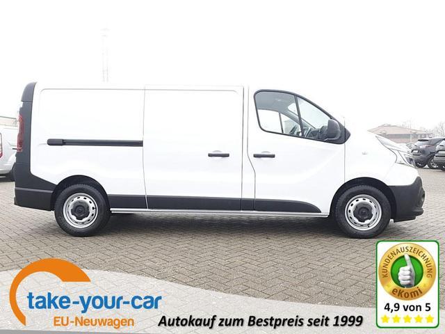 Renault Trafic Kastenwagen - L2H1 2.0 dCi 145PS Komfort 3,0t 3-Sitzer Klima Anhängerkupplung LED-Scheinw. Renault-Navi DAB  Apple CarPlay Android Auto Bluetooth Parksensoren Tempomat Vorlauffahrzeug