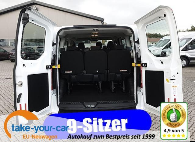 Ford Transit Custom - Kombi 9-Sitzer L1 1.0 EcoBoost Plug-in-Hybrid 125PS Automatik Trend Sitzheizung Klima Radio mit Bluetooth PDC v h Frontscheibe beheizb. Vorlauffahrzeug