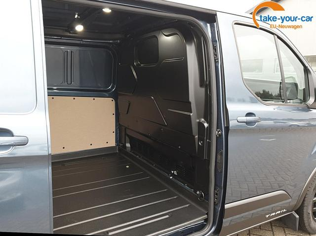 Ford Transit Custom L2 2.0 TDCi 130PS Trail 3,0t 3-Sitzer Voll-LEDER Anhängerkupplung Klima Ford-Navi SYNC 3 DAB+ Bluetooth 8''-Touchscreen Apple Carplay Android Auto PDC v+h Rückf.Kamera Tempomat Frontsche