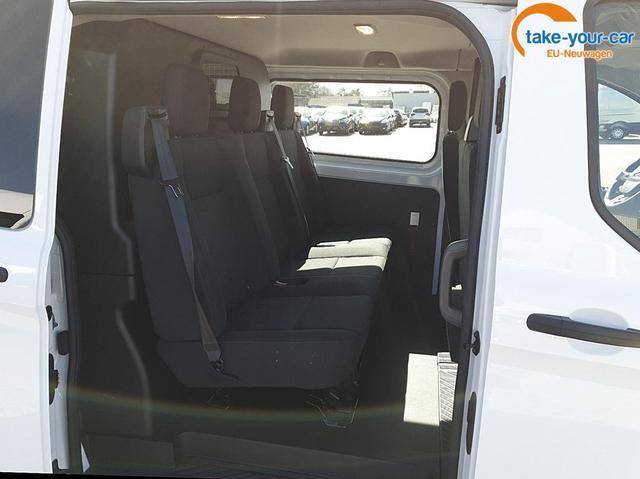 Ford Transit Custom Doppelkabine L2 2.0 TDCi 108PS Trend 3,0t 6-Sitzer Sitzheizung Anhängerkupplung Klima Ford-Navi SYNC 3 DAB+ Bluetooth 8''-Touchscreen Apple Carplay Android Auto PDC v+h Rückf.Kamera Temp