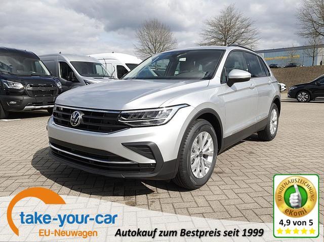 Volkswagen Tiguan - 1.5 TSI ACT 150PS DSG Life Neues Modell Klimaautomatik Sitzheizung Lenkradheizung -Radio mit Bluetooth DAB  AbstandsTempomat PDC v h Vorlauffahrzeug