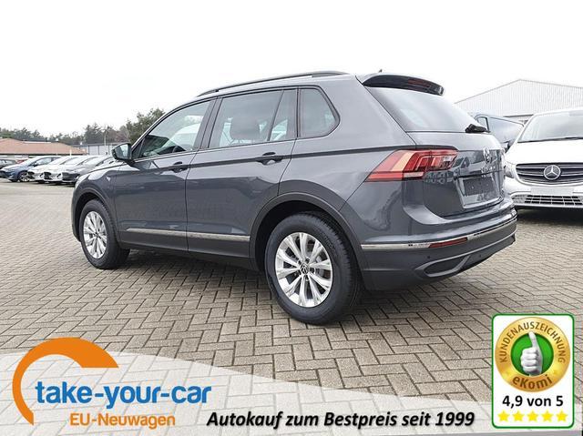 Volkswagen Tiguan - 1.5 TSI ACT 150PS DSG Life Neues Modell AppleCarPlay Klimaautomatik Sitzheizung Lenkradheizung -Radio mit Bluetooth DAB  AbstandsTempomat PDC v h Vorlauffahrzeug