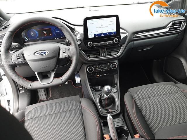 Ford Puma 1.0 EcoBoost Hybrid 125PS ST-Line Sitzheizung abnehmbare AHK LED-Scheinw. Klimaautomatik Lenkradheizung Ford-Navi SYNC3 DAB+ 8''-Touchscreen mit Bluetooth Apple CarPlay Android Auto B+O Sound Fron