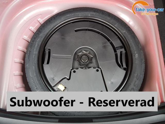 Seat Leon/Xcellence/Subwoofer/Reserverad